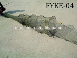 Wholesale Double over fishing trap Fyke nets eel trap