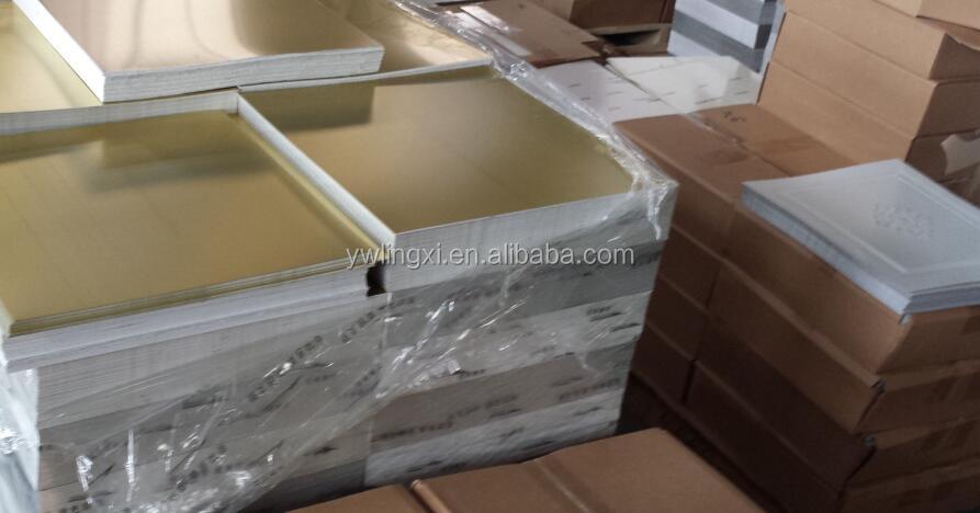 lxc6820 고급 홈 개선 300mm 벽 보드, 예술 거울 알루미늄 시트 천장 ...