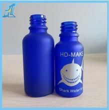 China supplier 100ml spray sapphire blue/amber glass bottles for perfume