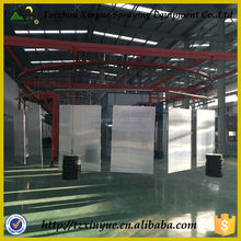 electrostatic powder coating for metal sheet