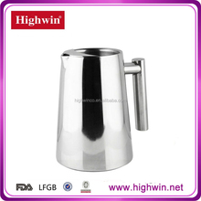 18/8 Heat-Resistant Double Wall Water Pitcher/water marker