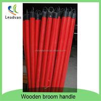 wooden broom stick, wood besom pole,1.2 m broom stick