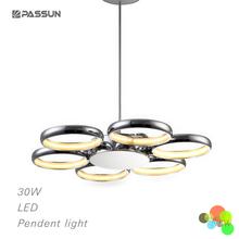 led smd ring pendant light