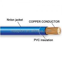 wire classification whosale NYLON ELECTRIC wire copper coated aluminum wire cable UL standard