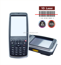 Wins mobile 6.5 Hf Rfid Reader Industrial PDA with laser barcodle scanner, camera, 3G available