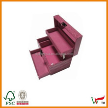 Personal care make up container, 3 tier decoration storage