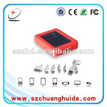 2000mAh solar power bank for mobilephone