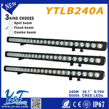 High power! NEW! 4D lens Striaght / Cambered led light bar,300w 52 inch led