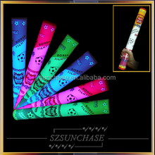 2015 led foam stick baton light up led flashing foam stick foam led stick