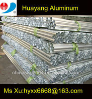 natural aluminum tube