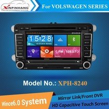 HD capacitive touch screen car dvd player for VW Polo with gps navigation