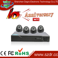Lowest Price In The World Best Selling CCTV Camera CCTV DVR Kit 4CH DVR KIT Made in China