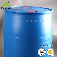 200 liter HDPE clean used plastic drums barrels for chemical packing