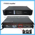 1800W de sonido profesional amplificador FP9000