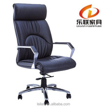 leather office bow leg chair H-835A