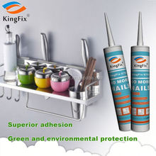 black color Wide range use strong adhesion nail liquid sealant for Door Line
