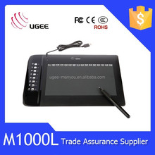 Hot sale!!! M1000L meaningful colorful animation designer graphic tablet digitizer