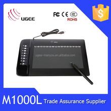 Hot sale!!! M1000L meaningful colorful animation designer graphic tablet digitizer
