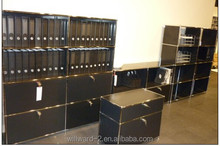 Stainless steel high board modular shelving unit