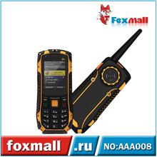 2.0 Inch Card Single Mobile Phones MTK6252 Waterproof Radio Walkie Talkie Cell Phone Bluetooth 2.1 AAA008