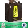 Lead Free Non Woven Custom Bulk Reusable Wine Tote Bags