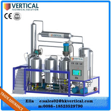 Automatic operation and high quality engine oil distillation plant
