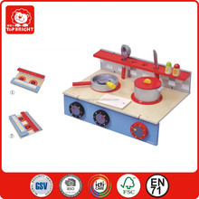 Foldable table kitchen set for kids//indoor and outdoor toys kitchen play set/easy take away wooden kitchen utensils