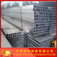 Z150 Pre galvanised rectangular pipe