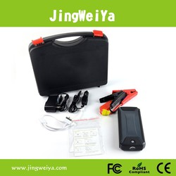 Car Jump Starter with Wihte/Red/Blue 3 Color LED and 3 Modes: Torch/SOS/Strobe