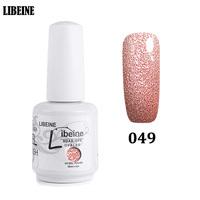 Bling Color Glitter UV Gel Nails Polish Easily Removed By Gel Polish Remover, Gel Nail Polish Sets China Supplies