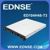 ED104H48-T3 Short Depth 4 Bay Hot Swap 1U Server Case for VOIP Gateways