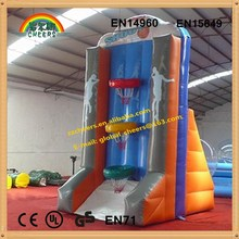 Inflatable basketball shelf for kids and adult, inflatable sports,