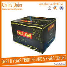 Custom Portable Folding China Printer Cartridges Packaging Box