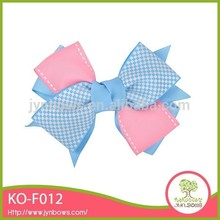 Best sell good quality popular children decoration grosgrain inflatable hair bow