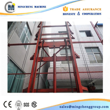 CE proved freight hoist,hydraulic freight elevator,flexible design cargo lift, material lift