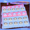 China Supplier Custom Cute Animal Shape Cartoon Printed Hand Towel For Kids