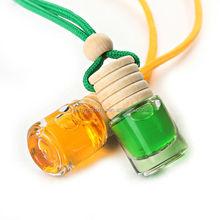 Alta calidad 5 ml perfume ambientador <span class=keywords><strong>de</strong></span> coche <span class=keywords><strong>botella</strong></span> <span class=keywords><strong>de</strong></span> vidrio a la venta
