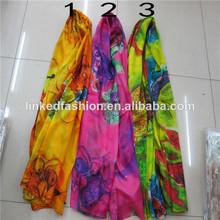 Bufanda de seda malasia manera de las mujeres baratas al por mayor del abrigo robó,Poncho , estolas , Pashmina mantón