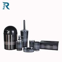 7 pcs British Style Heat Transfer Bathroom accessories set