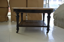 Wholesale Antique Round Wood Coffee Table Made in China