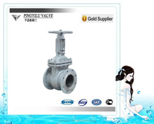 russia water flanged WCB metal seated different type of gate valve prices pn16