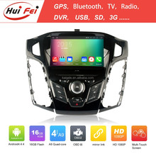 2015 China Wholesale Car Dvd Player Quad-core Car Dvd For Ford Focus 2012 Bluetooth 3G/WIFI DVR OBD2 SD Radio