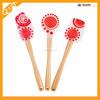 colorful hot sell Food grade Non-stick colorful silicone spatula/scraper