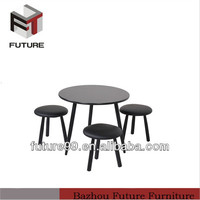 New modern student table and stool sets school furniture