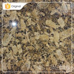 Factory Price Polished Giallo Fiorito Granite Countertop Covers