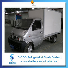 Hot selling mini box van truck, hot sale mini box van truck
