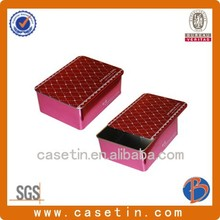 hot sale plain soap tin box,wholesale decorative cookie tin