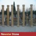 romana de mármol de piedra natural de la columna