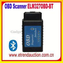 whlolesale Bluetooth ELM327 OBDII ELM 327 bluetooth Diagnostic Scan Tool ELM327 Bluetooth OBDII V1.4 Code Reader