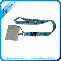 merchandise direct from china no moq promotional id lanyard wholesale with id card holder